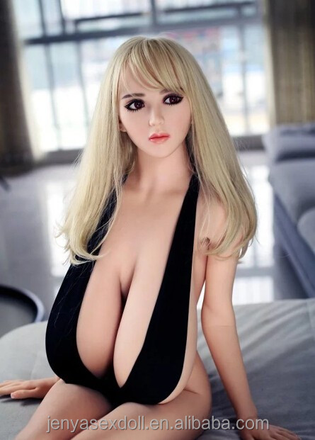155cm Realistic Love Dolls Full Solid Silicone papaya huge breast Sex Doll Product For Man Vagina Sex Doll