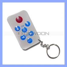 Universal Remote Control Code Keychain Bubble Button TV Remote Control For TV/AV