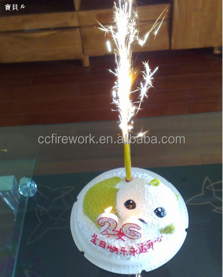 high quality birthday cake candle fireworks for wholesale