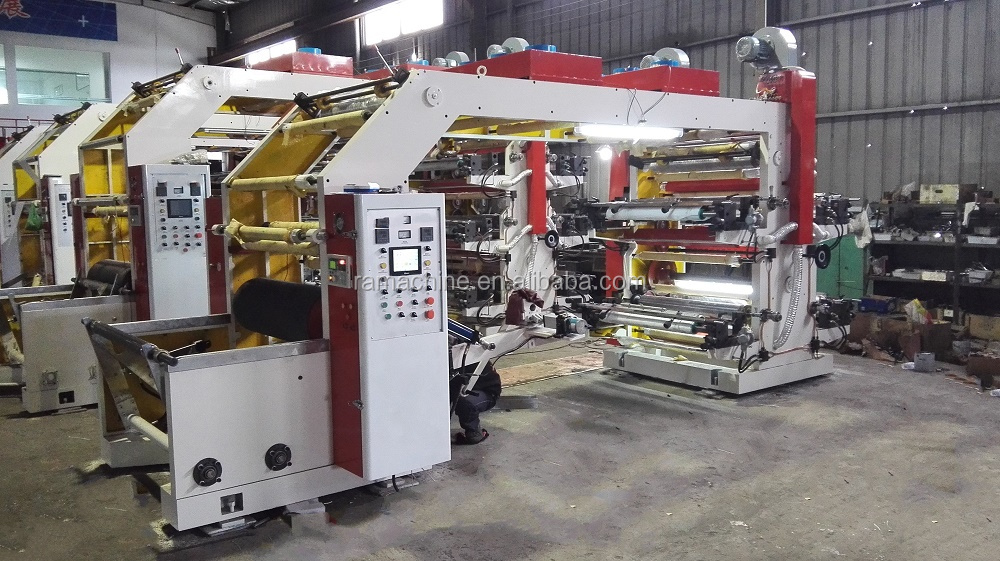 4 Colour Flexo Printing Machine (4 Color Flexo Printing Machine)