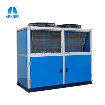 Air Cooled Condensing Unit With Reciprocating Compressor Used in Cold Store