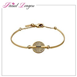 summer lady watch sets upscale rose gold bracelet watch set for women
