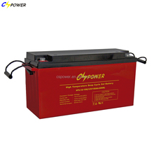 12V 150Ah Rechargeable Maintenance-free GEL Lead Acid Battery for forklift