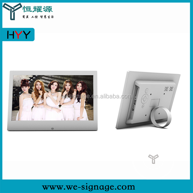OEM Manufacturer 13.3 inch WIFI hd mp4 hot video player headrest monitor digital photo frame