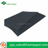 black card board/Black paperboard/Black chipboard