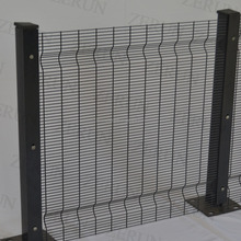 zerun factory high quality 2018 new product inside price pvc coated pro-sure 358 security mesh panel fence gates