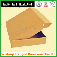 Alibaba custom logo and print 3 layer high quality cardboard box