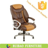 Latest High Back Ergonomic Bonded Leather Recliner Swivel Office Executive & Managerial Chair Napping Chair