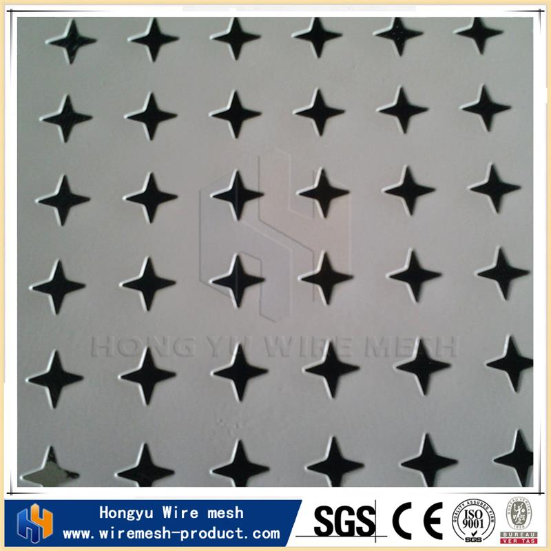 HongYu plastic perforated sheets square hole rib lath with great price