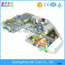2016 new style children entertainment equipment indoor playground for home