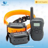 Famous brand dog anti bark collar with lcd CE ROHS passed WT738N2