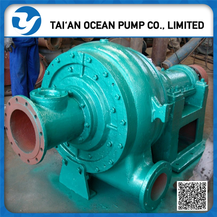 heavy duty sand suction dredger pump for river