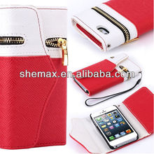 New design leather mobile phone case,wallet pu cell phones cover for samrtphone