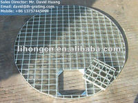 galvanized round steel bar grating