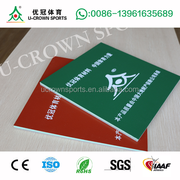 High Quality Silicone PU Tennis Synthetic Court flooring made in china