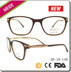 latest model spectacle frame acetate eyewear optical frame