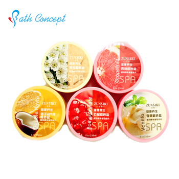 Different flavors 100% natural body Shea Butter Body Butter OEM factory