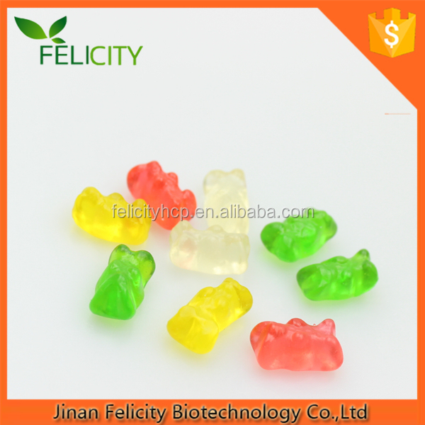 Vitamin gummies vat 19 gummy worms/dragon/bears with FACTORY PRICE