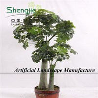 fantastic planter , different sizes of cheap artificial greenery plant