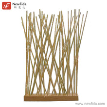 Stylish Eco-friendly High Quality Rectangular Natural Bamboo Fancy Room Dividers