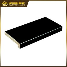 Hot sale swimming pool bullnose tile 240x110mm ceramic pool tile edge