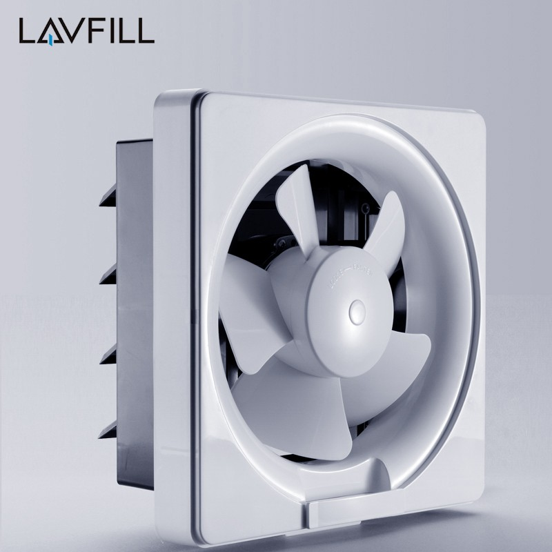 Kitchen Ventilation Fan For Smoke Removal Wall Mount Louver Ventilation