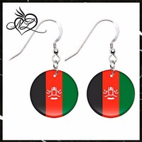 Afghanistan Flag Earrings