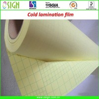 Glossy/semi matte/matte pvc clear cold lamination film for photo paper