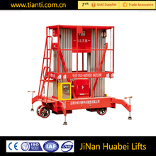 New product Manual Lifting Equipment Hand Stacker Material Lifts Alumium Alloy Manual Material