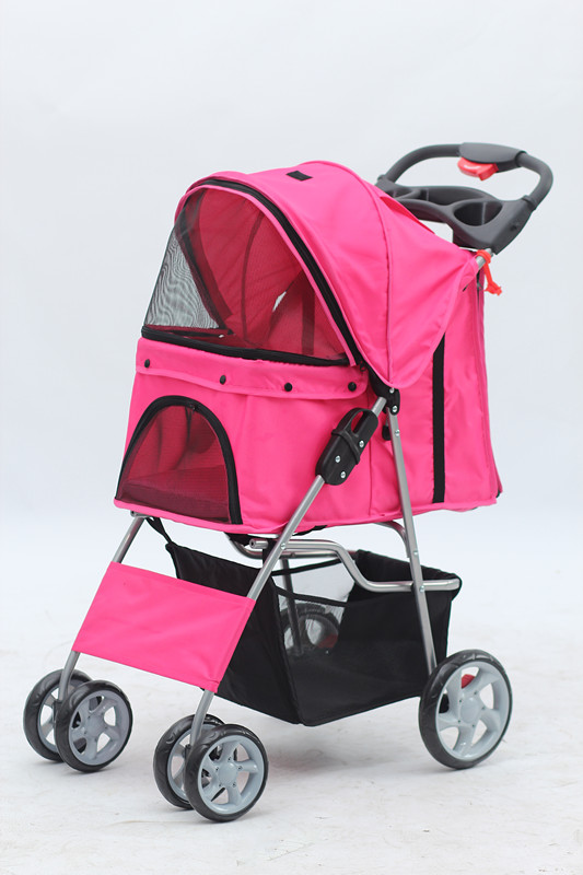 Foldable Pet Stroller Pet Pushchair Stylish And Durable