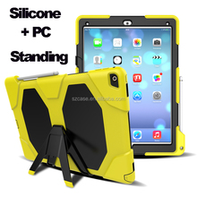 Silicone Stand Holding PC Case for ipad 2 4 fashion Design Case for Ipad