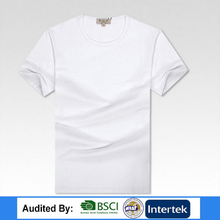 Promotion t shirt/Give away t shirt with goods/Cheap white t shirt in Bulk from China