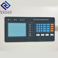 OEM Membrane Switch Tactile Keyboard Control Panel for Telecommunication Equipment