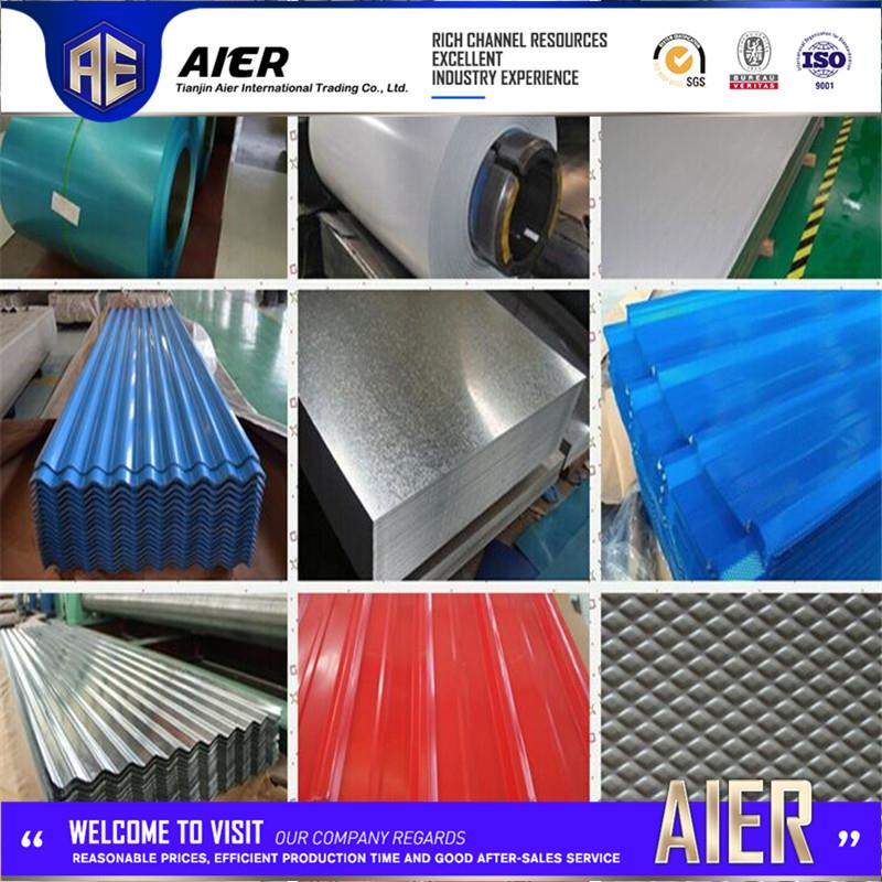 Brand new !! hot dipped galvanized corrugated steel sheet color coated spanish roof tiles prices alibaba.com