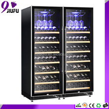 154 bottles modern design noble wine coolers for red wine storage