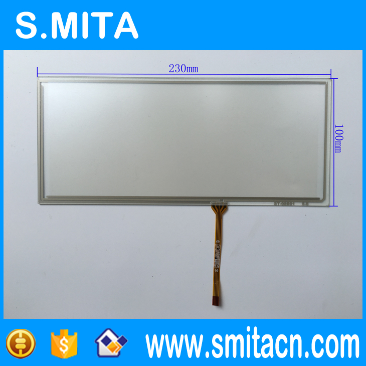 8.8'' inch 230mm*100mm 4 wire Resistive ST-08801 100% Tested Best Quality Touch Screen Panel