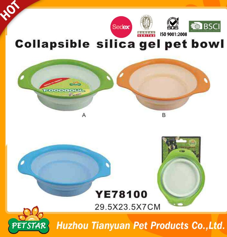 2016 New design plastic pet bowl, pet products