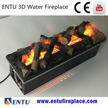 cheap 80cm 3D Water decor fake flame 2 3 sided electric fireplace