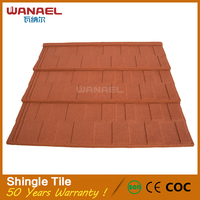 Free Sample Low Cost Stone Coated Metal Roof Tile Good Quality Metal Roof Tile