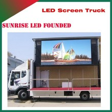 Sunrise High quality 4*2 mini move stage truck,Foton led mobile stage truck for sale