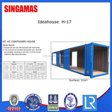 45ft Portable Real Estate Container House Building