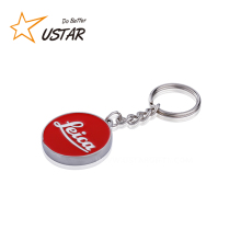 hot sell cheap printed keychain, custom made keychain maker