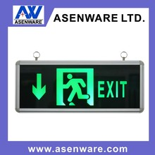 Popular selling hot design acrylic led emergency Exit Sign Boards