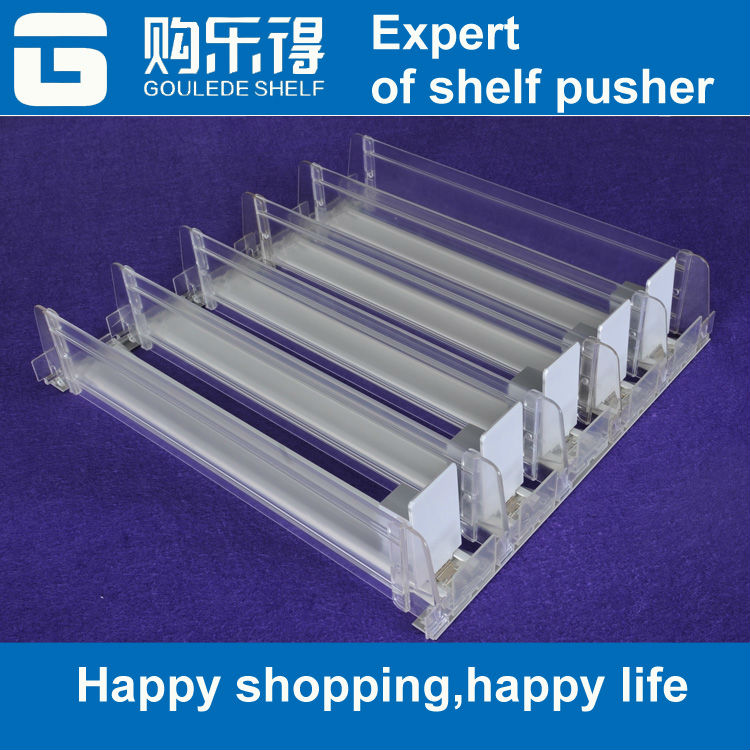 clear acrylic plastic cigarette display rack shelf divider