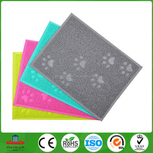 Colorful Cat litter mat M size for <strong>pet</strong> 23.5L by 15.75W inch