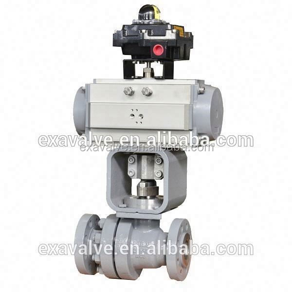 BV 210 Metal Hard Sealing Electric Ball Valve