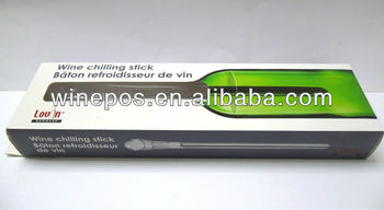 wine chiller, wine cooling stick, wine accessory
