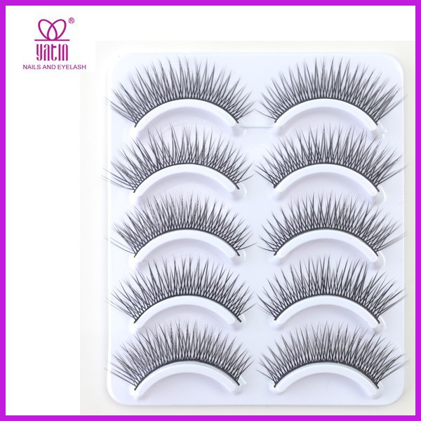 Flare false eyelashes / eyelash extension / natural eyelashes