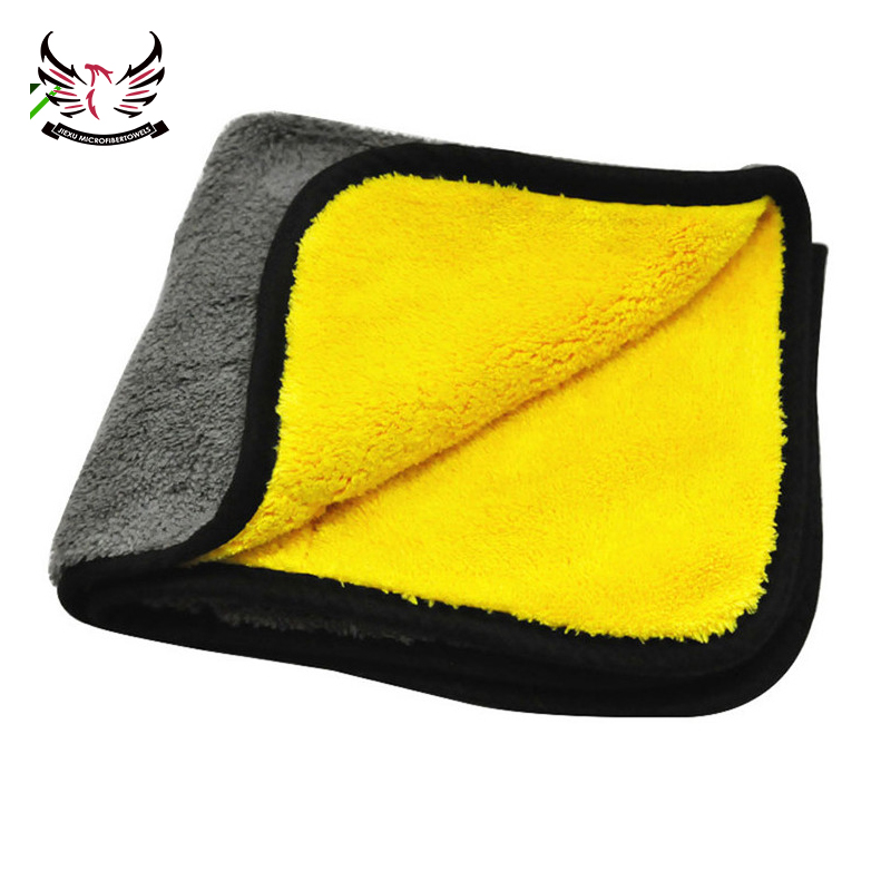 Best Quality 800 GSM Car Coral Fleece Cleaning Cloth Towel for Buffing