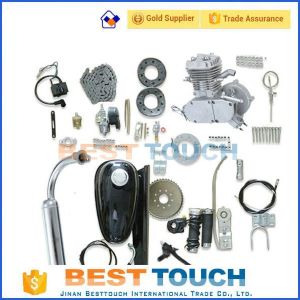 Wholesale 48cc 49cc 50cc 60cc 66cc 80cc bike scooter 2 stroke cylinder bicycle gas engine kits